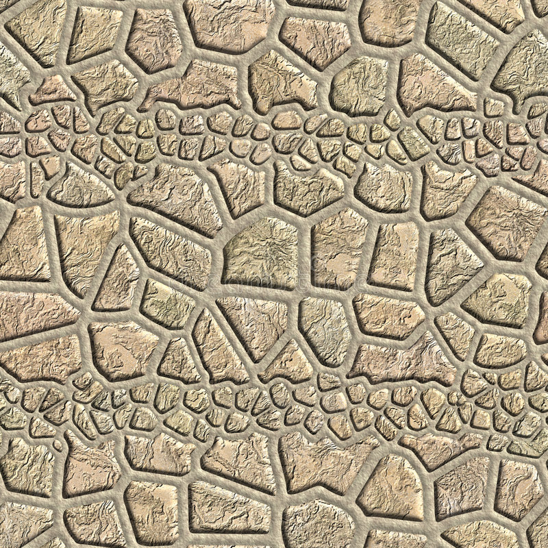 Download Seamless Pattern Of A Stone Stock Illustration - Image: 5093802