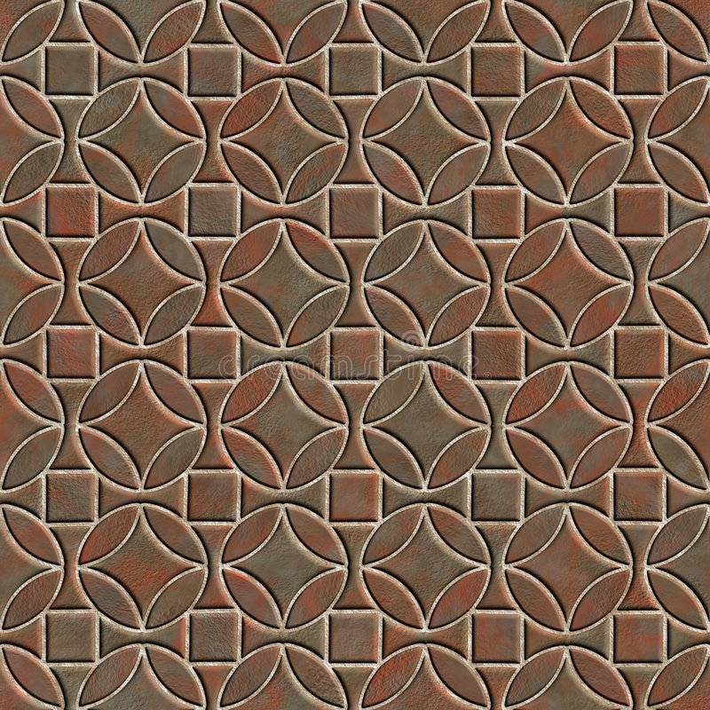 Download Seamless Pattern Of A Stoned Tile Stock Illustration - Illustration: 5148336