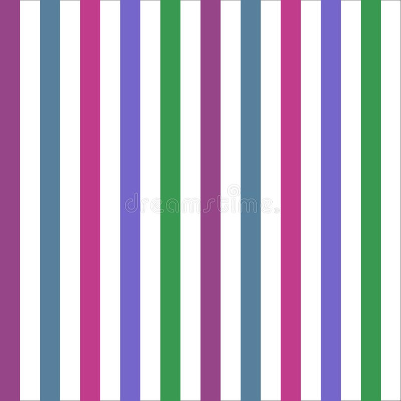 Seamless pattern stripe green blue purple tone colors. Vertical pattern stripe abstract background vector illustration royalty free illustration