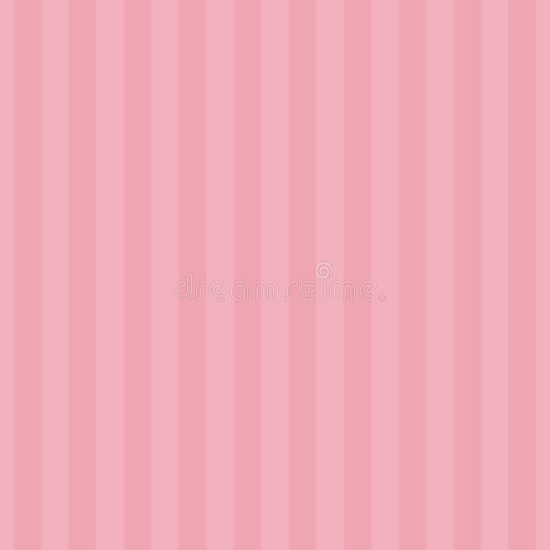 Seamless pattern stripe sweet pink two tone colors. Vertical pattern stripe abstract background vector illustration stock illustration