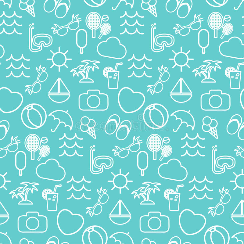 Seamless pattern in stylish colors tourism. Seamless pattern in stylish colors of traveling, tourism and vacation theme. Vector illustration vector illustration