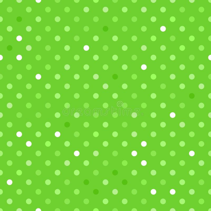 Seamless pattern surface design. Vector texture green polka dots background. Seamless pattern surface design. Vector green polka dots background. Summer bright vector illustration