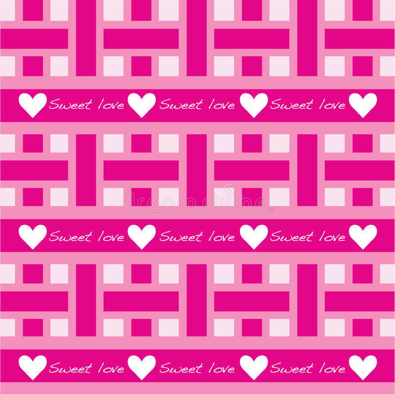Download Seamless Pattern With Sweet Love Stock Vector - Image: 7724245