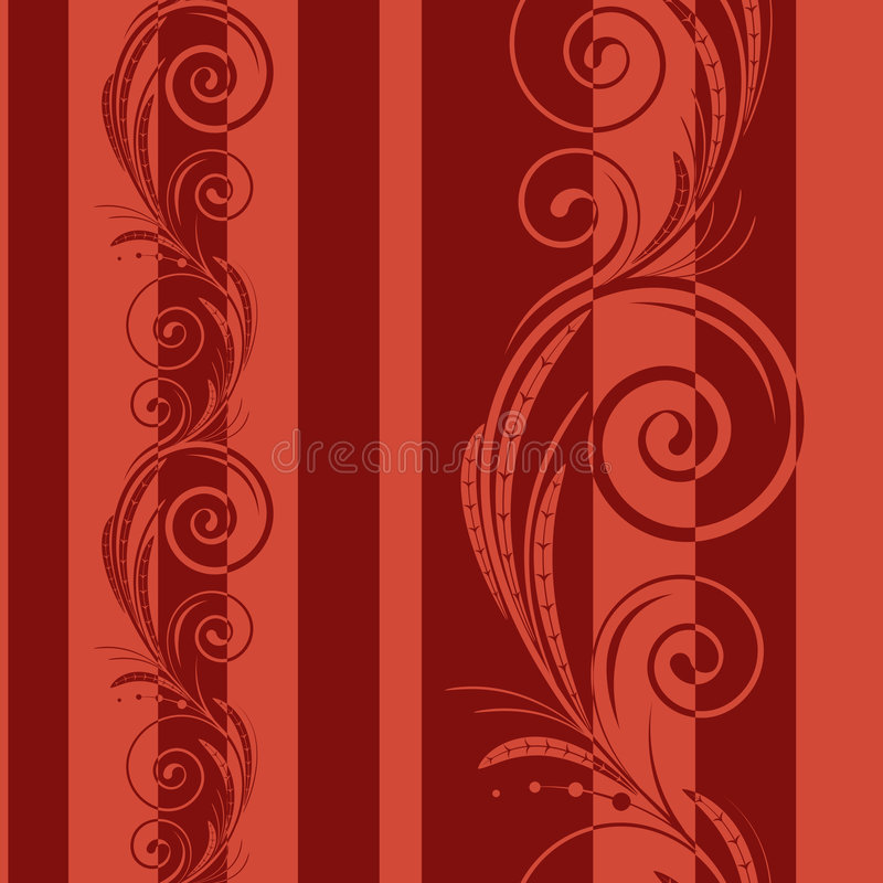 Download Seamless Pattern With Swirls Royalty Free Stock Photo - Image: 5378355