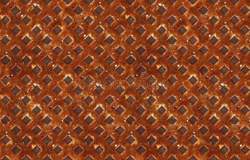Download Seamless Pattern Of Textured Rusty Metal Stock Image - Image of grunge, grating: 31135145