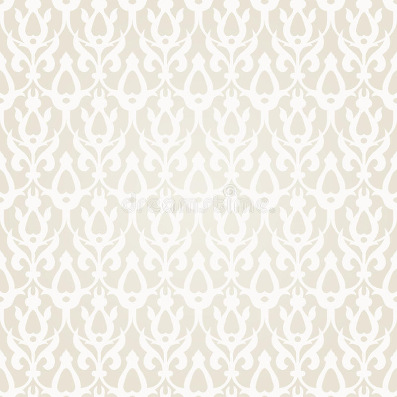 Seamless Pattern in Traditional Islamic Motif. royalty free illustration