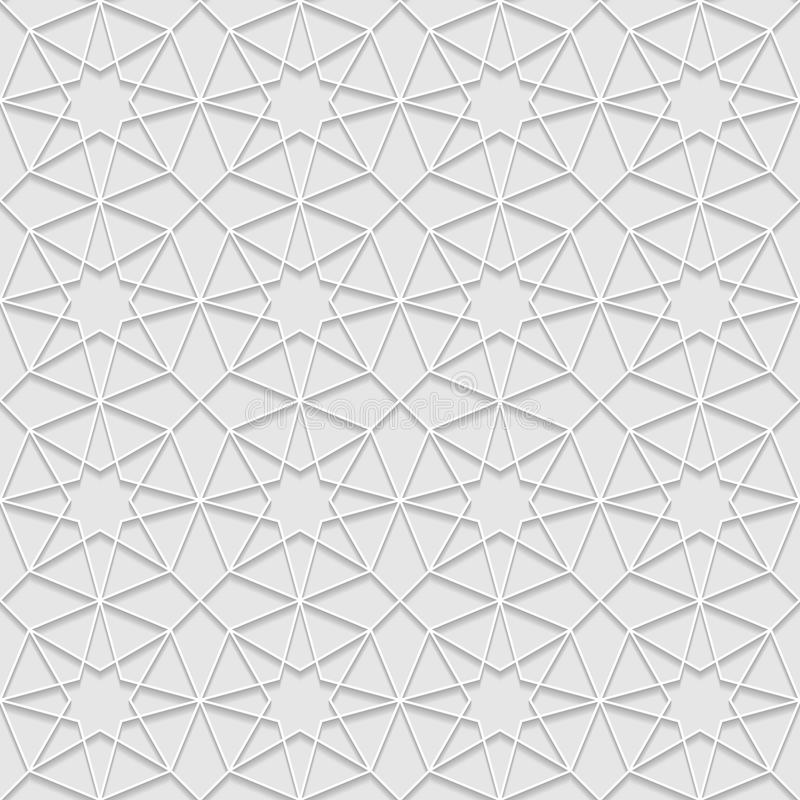 Seamless pattern with traditional ornament. Vector illustration vector illustration