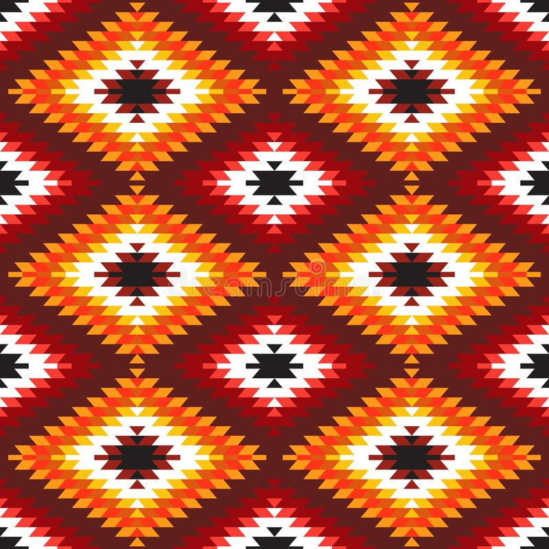Free Seamless Pattern Turkish Carpet White Red Orange Claret Burgundy. Colorful Patchwork Mosaic Oriental Kilim Rug With Traditional Fo Royalty Free Stock Images - 130846389