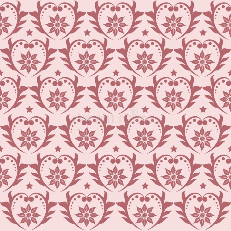Seamless pattern vector stock illustration