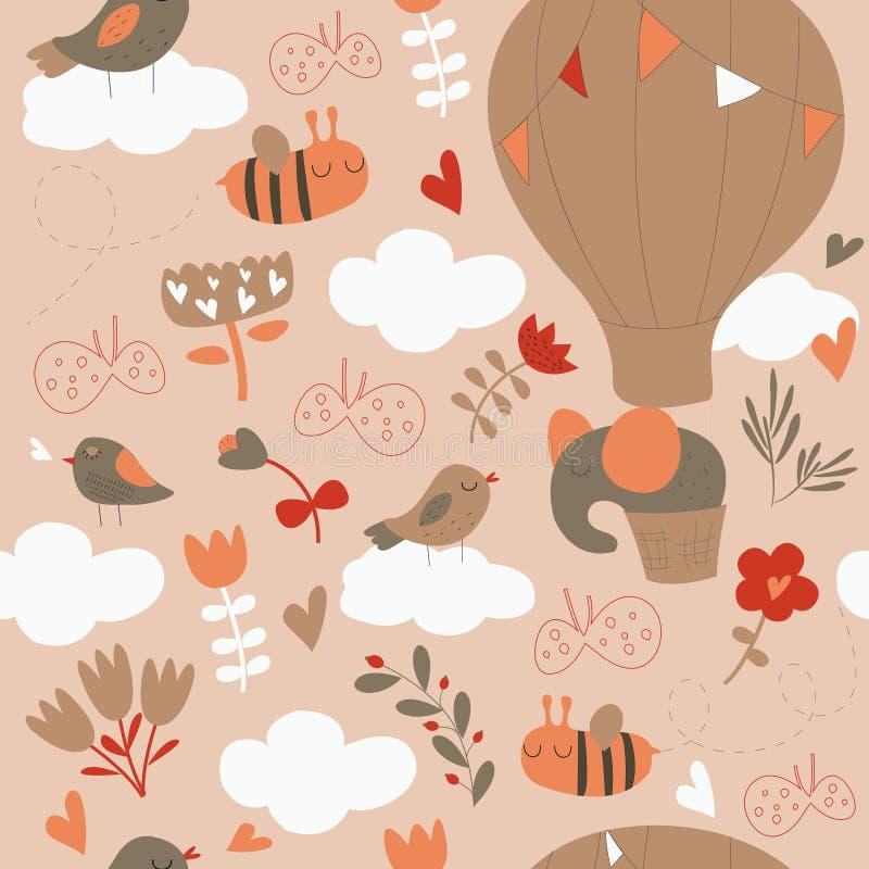 Seamless pattern royalty free illustration