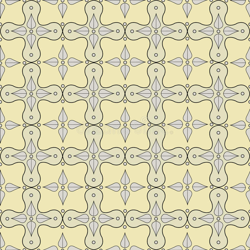 Download Seamless Pattern With Victorian Motifs And Colors Stock Illustration - Illustration: 23500494