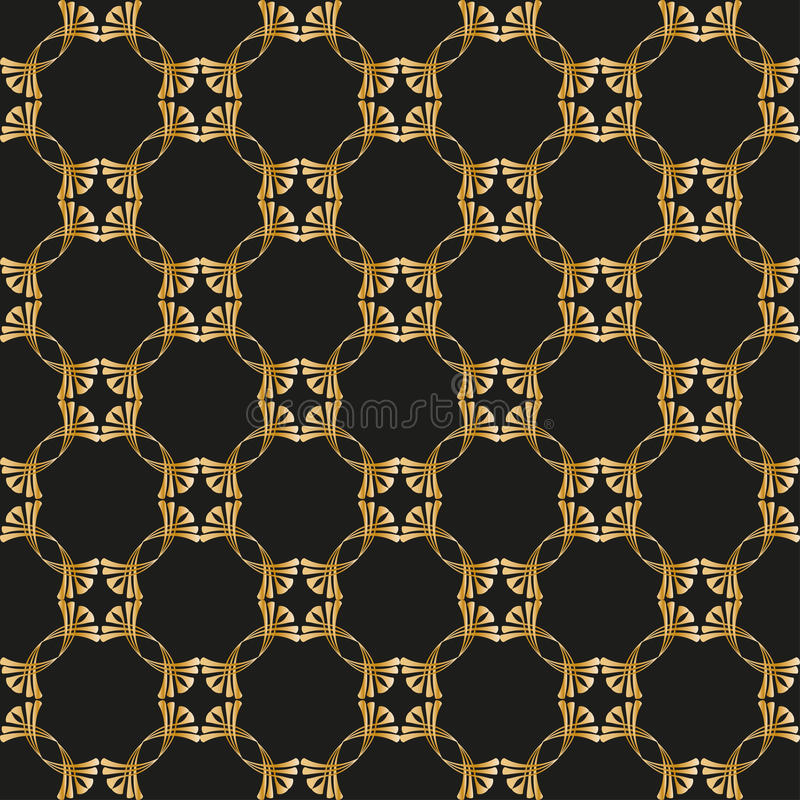 Seamless pattern. Seamless vintage background. Pattern for wallpaper design stock illustration