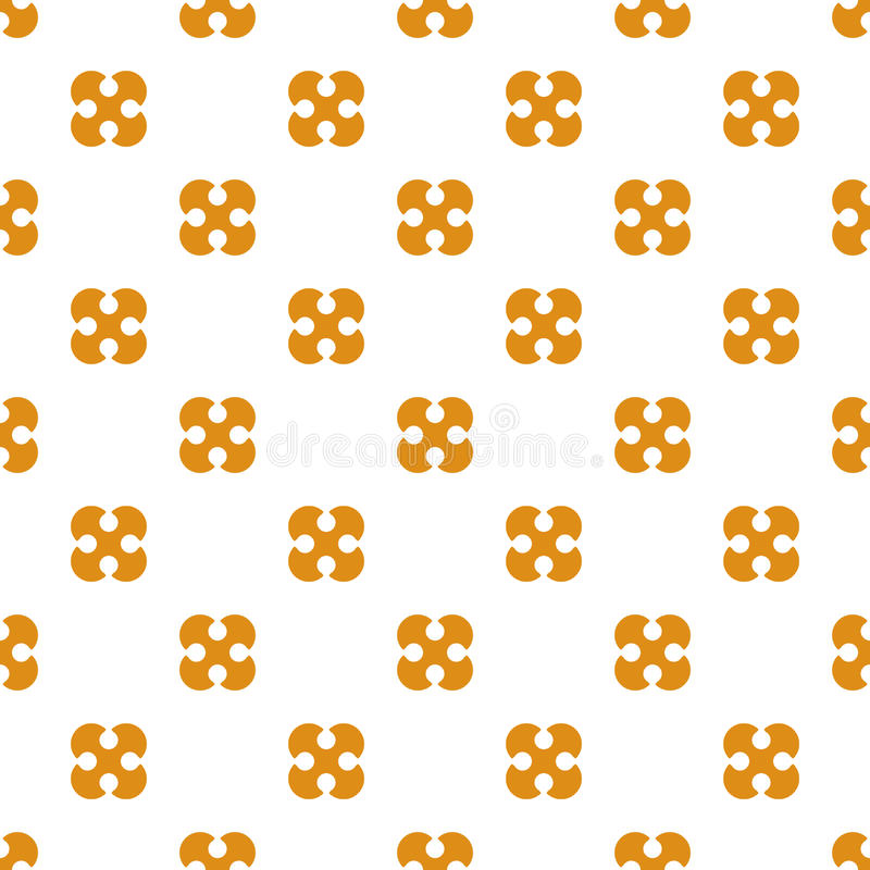 Seamless pattern. Wallpaper from the rounded figures. Abstract b. Ackground. Good design royalty free illustration