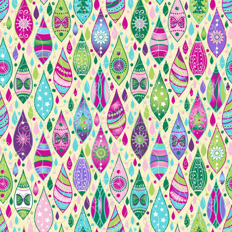 Free Seamless Pattern With Christmas Toys Stock Images - 30255634