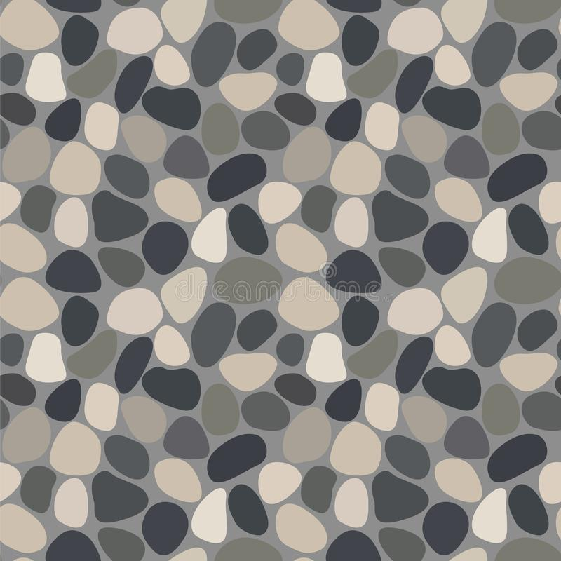 Free Seamless Pattern With Pebbles Stock Images - 137532094