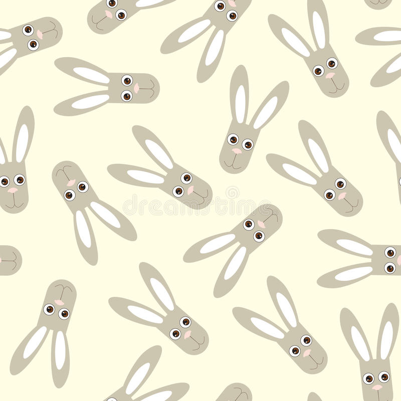 Free Seamless Pattern With Rabbit Toys Royalty Free Stock Photography - 27462537