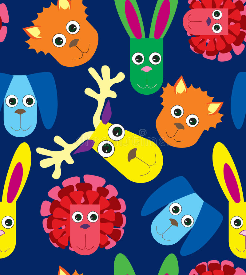 Free Seamless Pattern With Toys Royalty Free Stock Photos - 27462578
