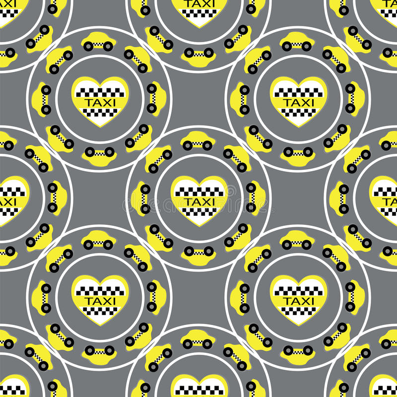 Download Seamless pattern stock vector. Illustration of taxi, trip - 31962537