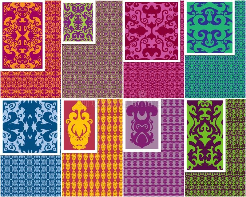 Download Seamless Patterns stock illustration. Image of illustration - 12542284