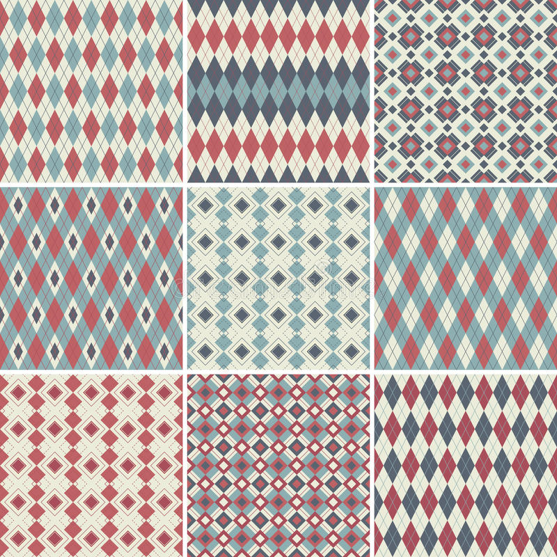 Download Seamless Patterns Collection Stock Vector - Image: 17399334