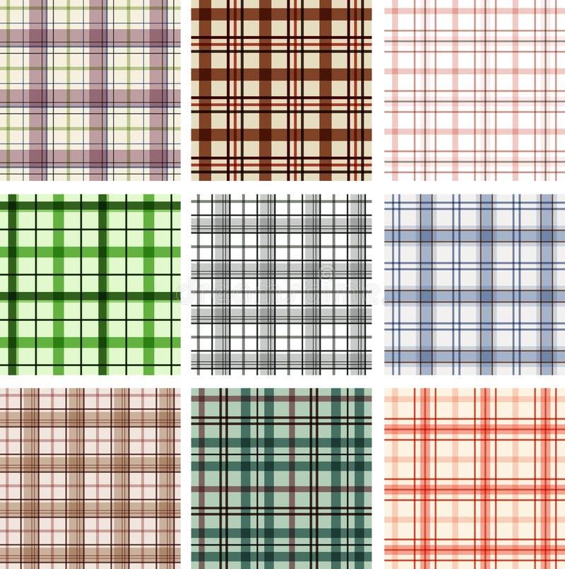 Seamless patterns royalty free illustration