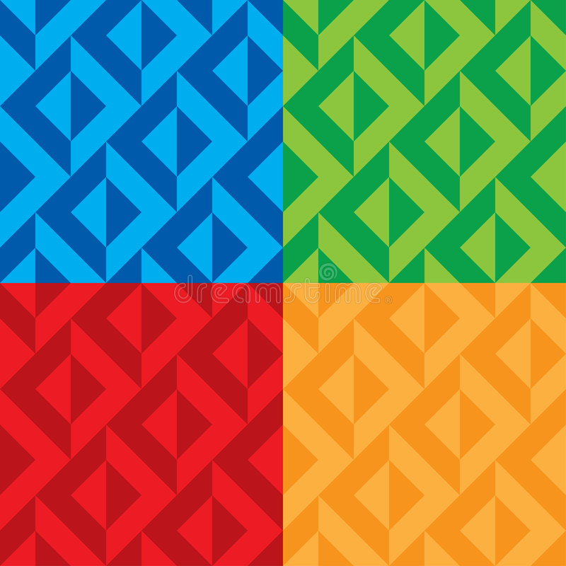 Seamless patterns vector royalty free illustration
