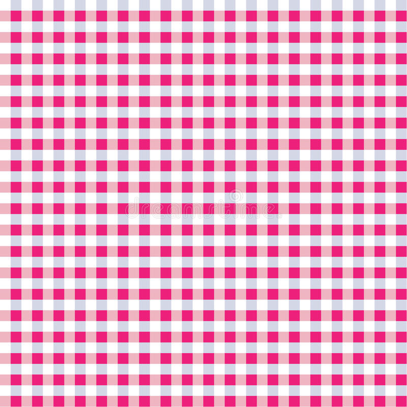 Download Seamless Pink Mix Gingham stock vector. Illustration of demim - 23879750