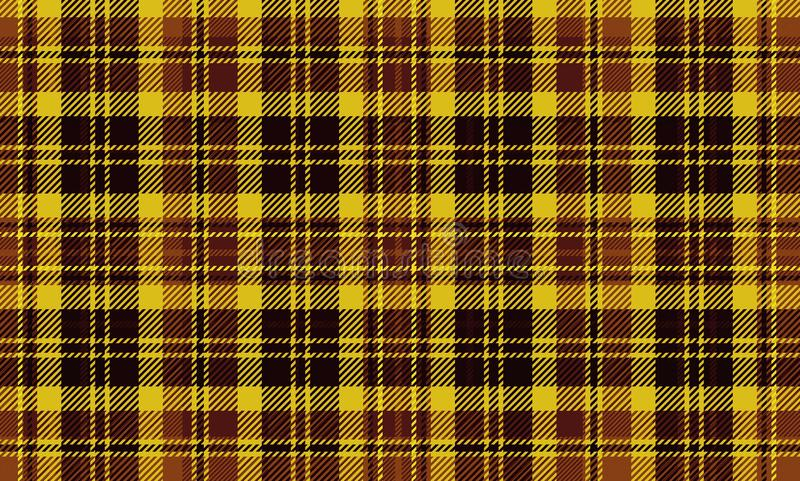 Seamless plaid check pattern. All over fabric texture repeat stock photography