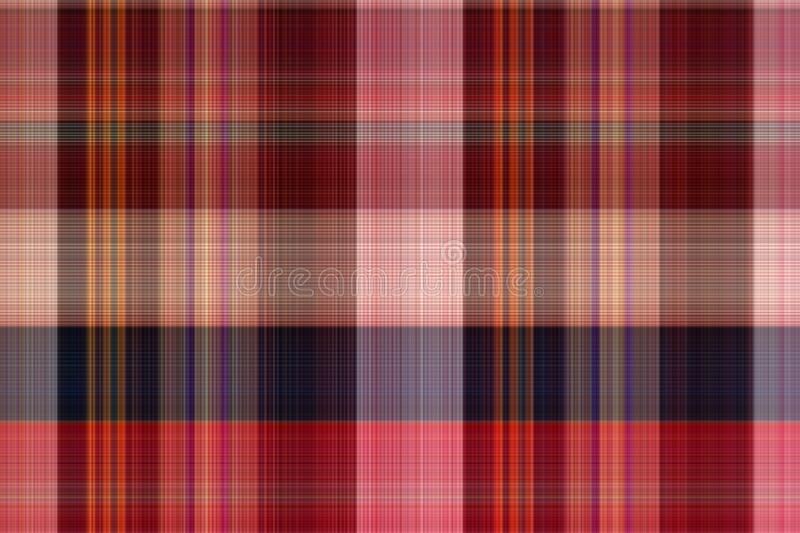 Seamless plaid fabric loincloth with stripe color abstract bac. Kground pattern texture stock photo
