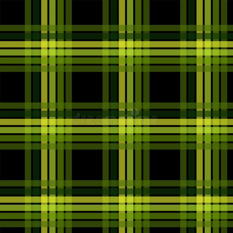 Seamless Plaid Fabric Pattern, Graphic Illustration vector illustration