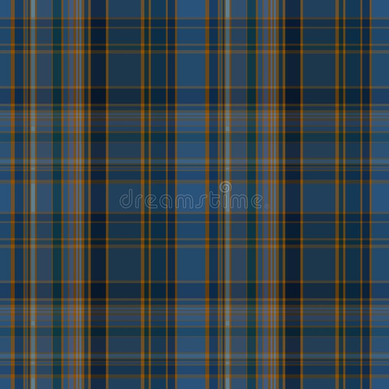 Seamless plaid pattern royalty free illustration