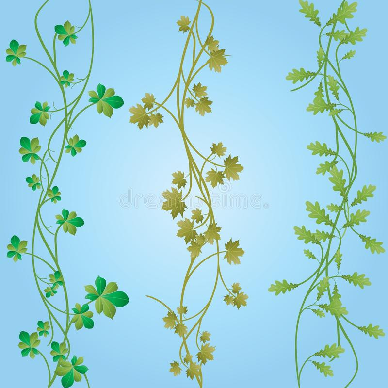 Download Seamless plants stock vector. Illustration of numskull - 9375292
