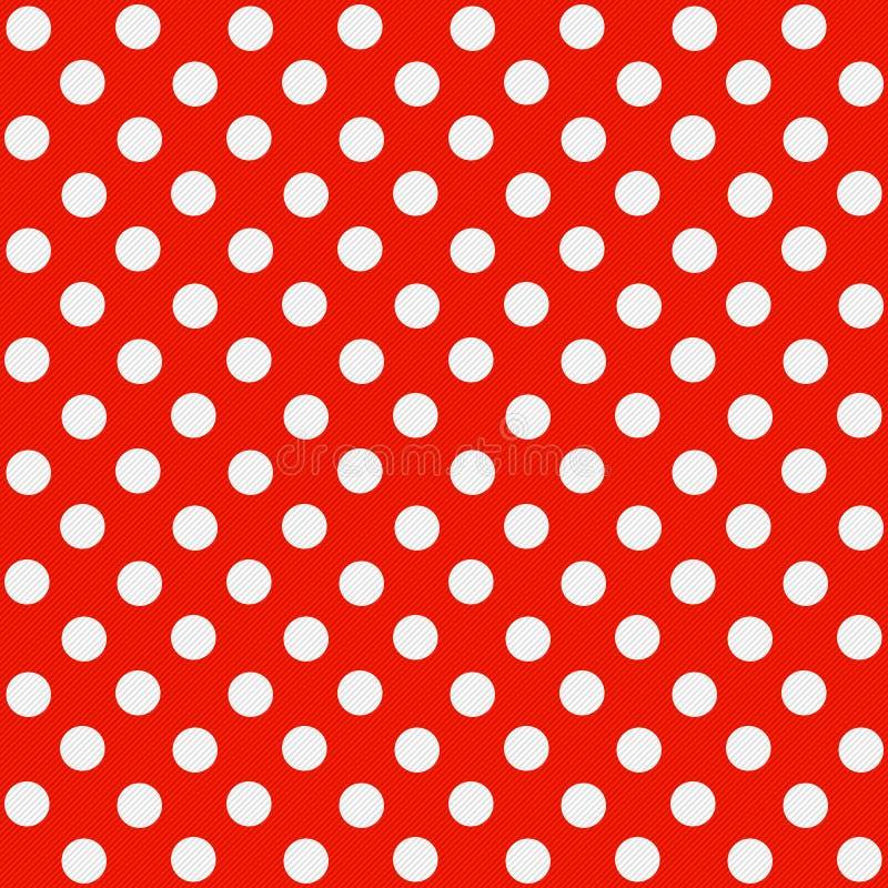 Seamless Polka dot pattern royalty free stock photo