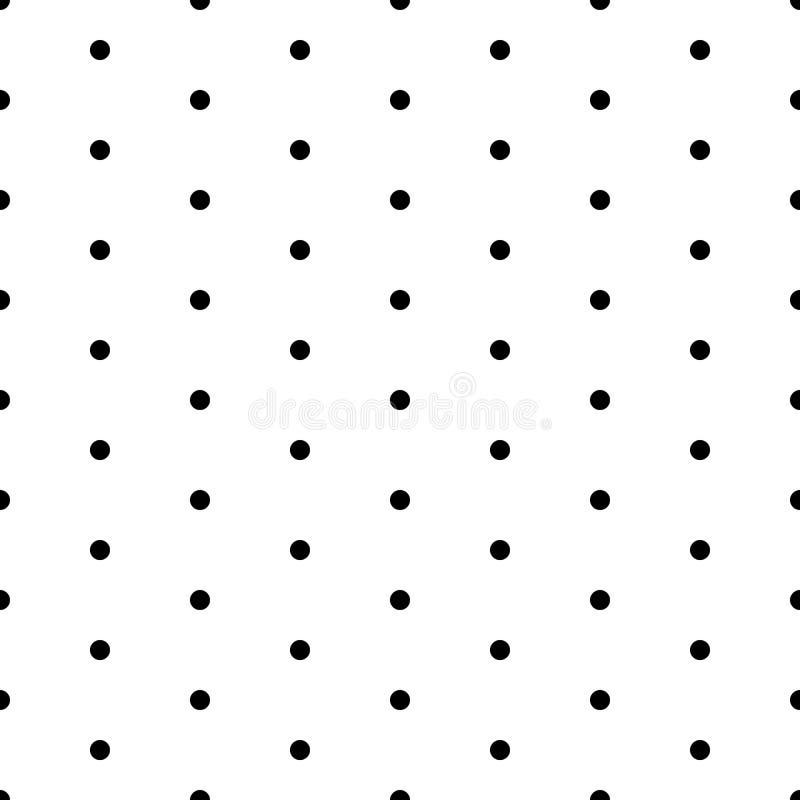 Seamless polka dot pattern royalty free stock photography
