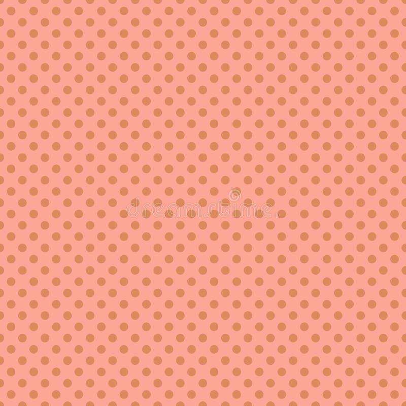 Seamless polka dots circles pastel pattern. Seamless polka dots circles pastel colors pattern stock illustration