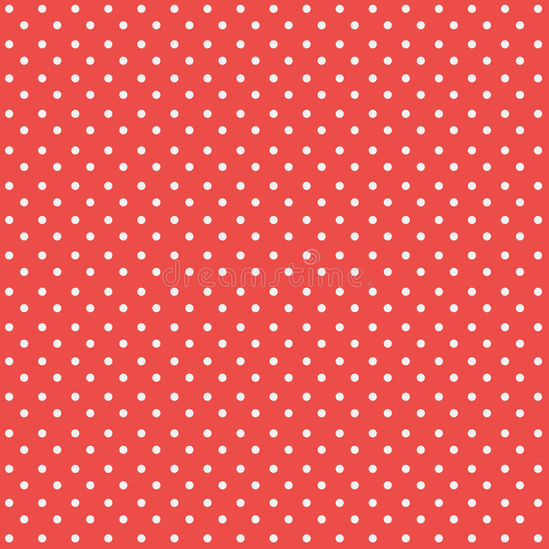 Seamless polka dots pattern background. Seamless polka dots, pattern background stock illustration