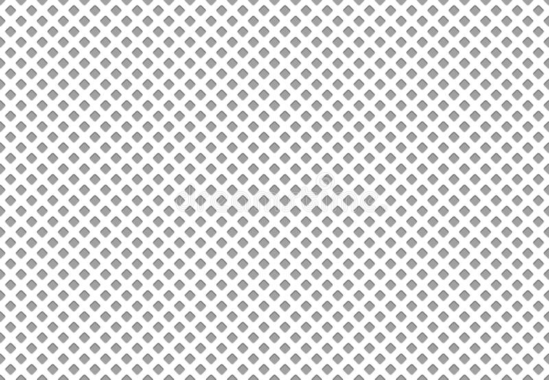 Seamless polyester fabric texture. Athletics cloth grid material, nylon mesh sport clothing textile vector pattern. Seamless polyester fabric texture. Athletics stock illustration