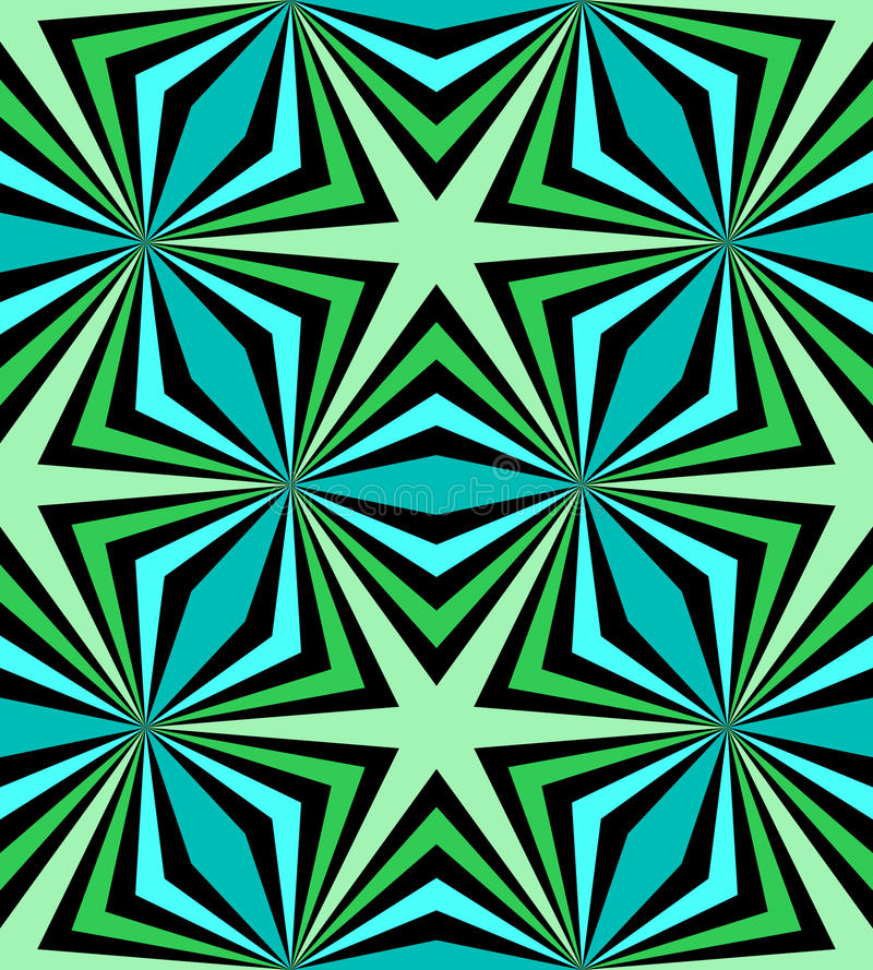 Seamless Polygonal Blue and Green Pattern. Geometric Abstract Background. Suitable for textile, fabric, packaging and web design. Vector Illustration. Seamless vector illustration