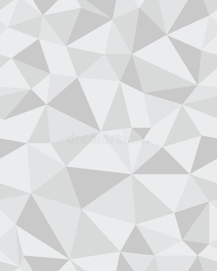 Seamless polygonal pattern royalty free stock photography