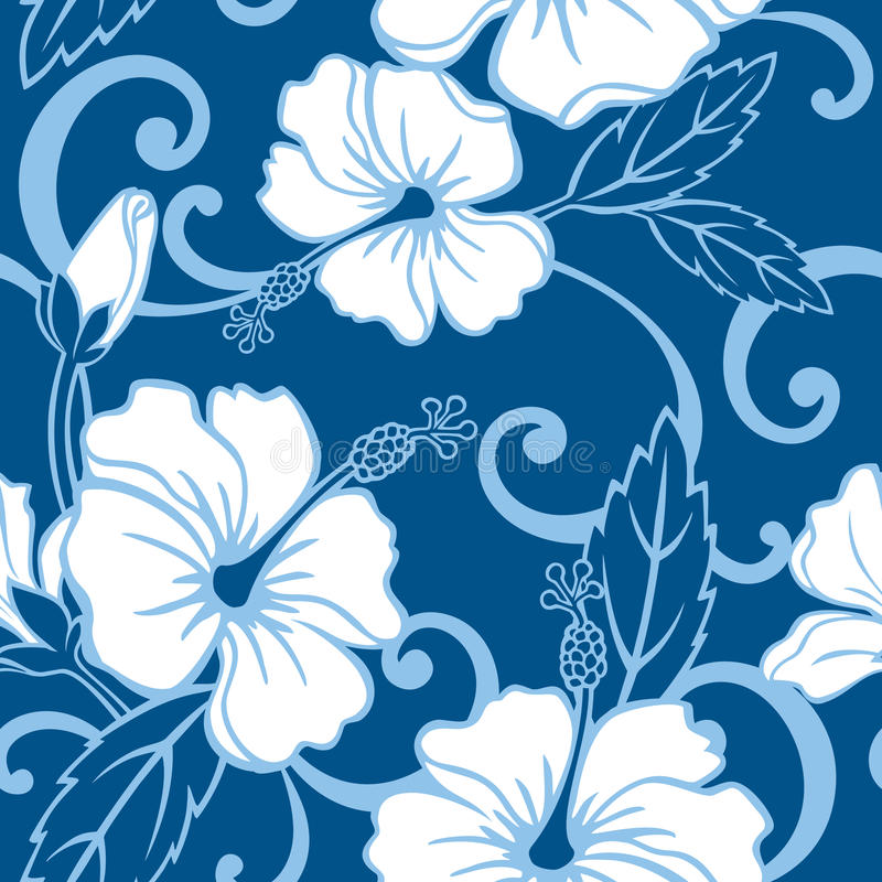 Seamless Polynesian Dream Pattern royalty free illustration