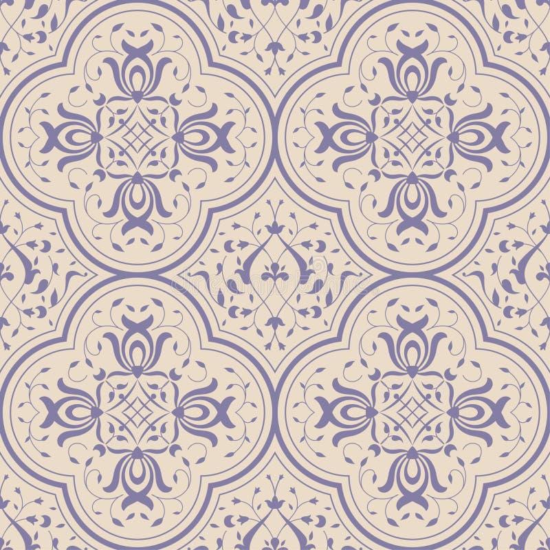 seamless prydnad royaltyfri illustrationer