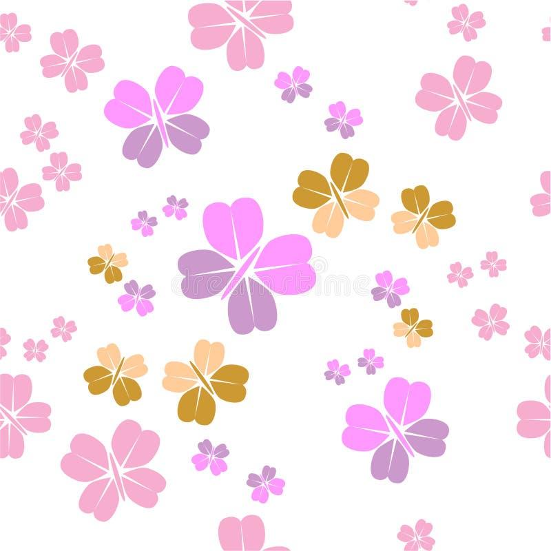 seamless prydnad för 01 färg vektor illustrationer