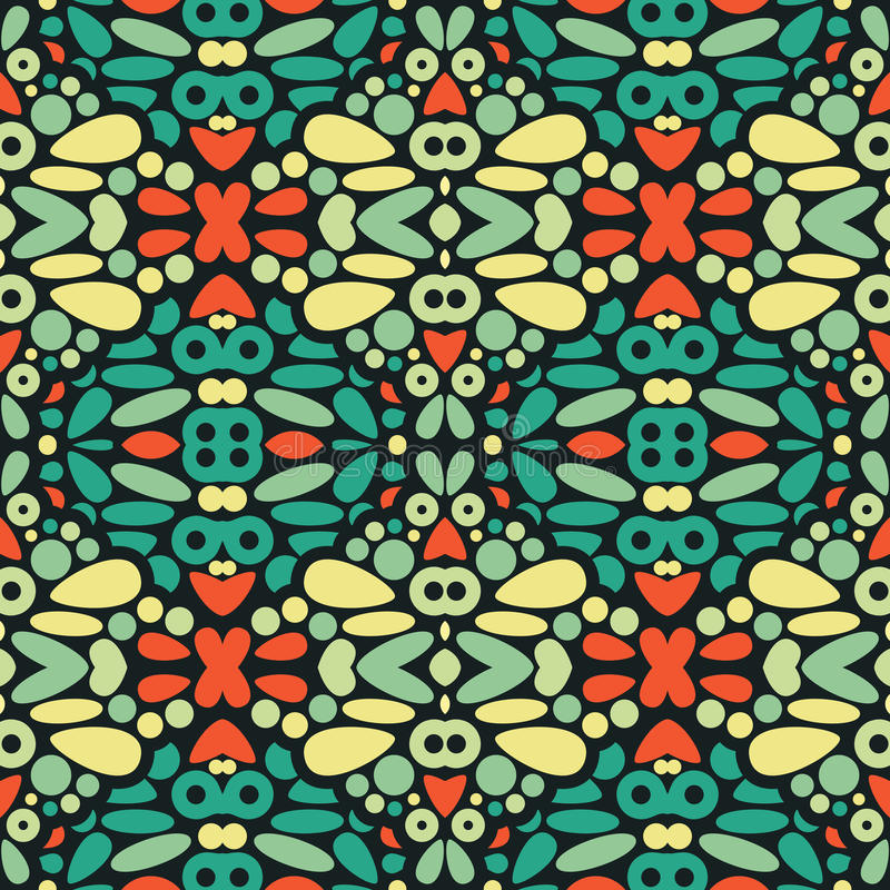 Download Seamless Psychedelic Patter Stock Vector - Image: 32714407