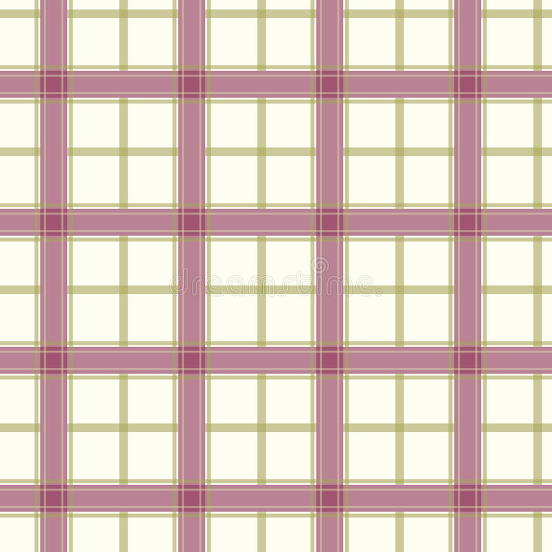 Seamless purple checked pattern royalty free illustration