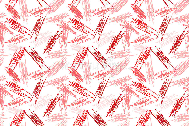 Seamless random doodling pattern texture royalty free illustration