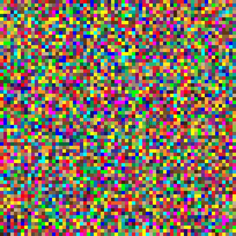 Free Seamless Random Squares, Mosaic Tiles Pixelated, Pixels Colorful Vibrant, Vivid Background / Pattern. Blocks Repeatable Pattern. Royalty Free Stock Images - 159339999