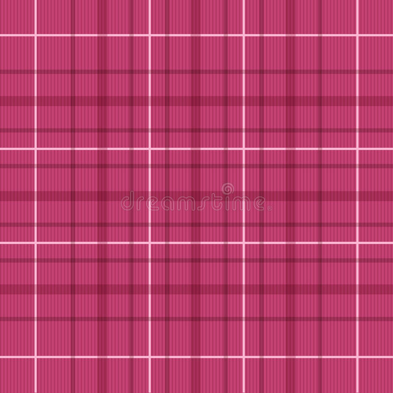 Download Seamless Raspberry Red Plaid Pattern Stock Vector - Image: 27269710