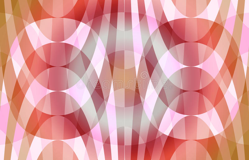 Seamless Red Curves Pattern. Abstract Seamless Red Curves Pattern royalty free stock image