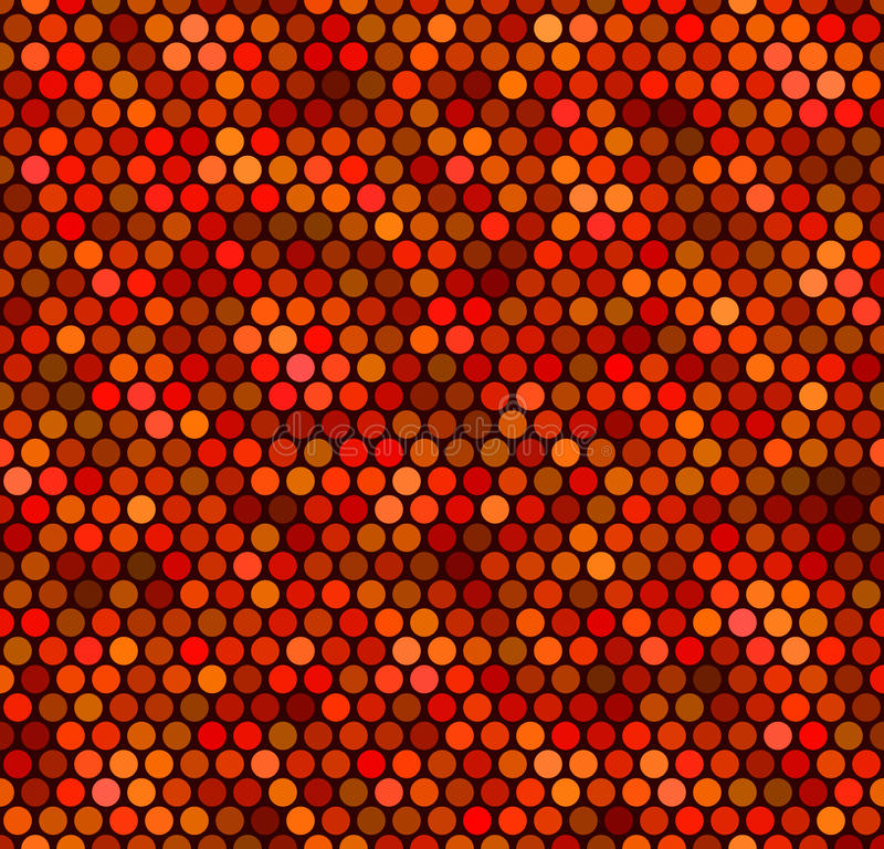 Download Seamless Red Dot Pattern stock vector. Image of pattern - 13407744