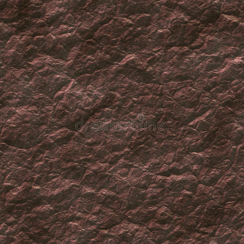 Seamless red soil generated texture royalty free illustration